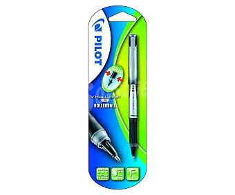 Pilot Bolígrafo del tipo roller, de grip suave, punta fina con grosor de escritura fina de 0.5 milímetros y tinta líquida negra de secado rápido 1 unidad