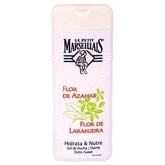 Le Petit Marseillais gel de baño flor de azahar frasco 400 ml hidrata y nutre Frasco 400 ml