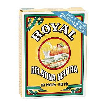 Royal Gelatina neutra en polvo Estuche 20 g (2 sobres x 10 g)