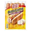 Cheeselovers salchichas cocidas y ahumadas con queso de cabra sin gluten 5 piezas Envase 275 g Oscar Mayer