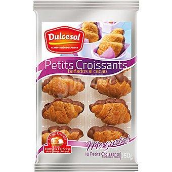 Dulcesol Petit croissants de chocolate Bandeja 150 g