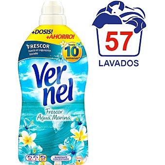 Vernel Suavizante concentrado Frescor Flores de Hawai Botella 54 dosis