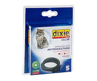Dixie Collas antiparasitario de color negro para gatos 1 unidad