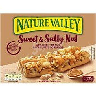 Nature Valley Barrita de cereales s&s caramelo Caja 120 g
