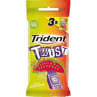 Trident Chicle twist sandia 3 ud
