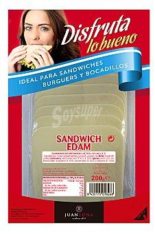 Carrefour Queso de barra para sandwich edam 200 g