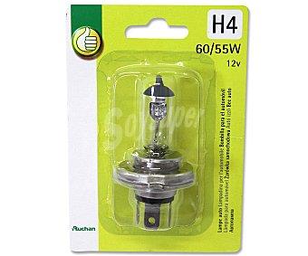 Productos Económicos Alcampo Bombilla halógena para automóvil, modelo H4, potencia: 55-60W 1 Unidad