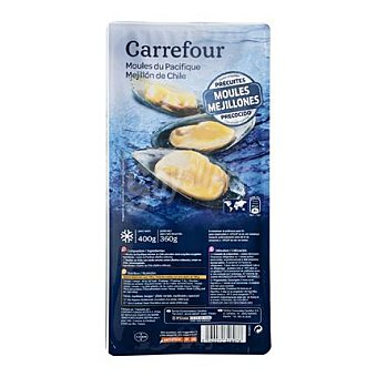 Carrefour Mejillón media concha 400 g