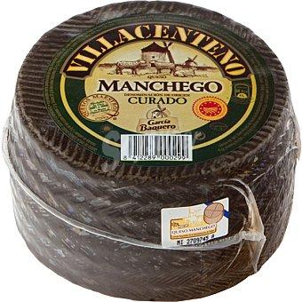 Villacenteno Queso curado con D.O. Manchego  880 g (peso aproximado pieza)