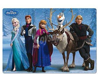 ERIK Tapete escolar con los personajes de la película Frozen de 34.5x49.5 centímetros 1 unidad