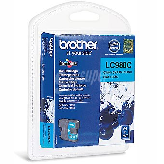 BROTHER LC980C Cartucho de tinta color cian