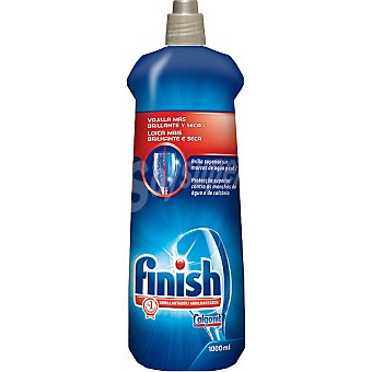 FINISH CALGONIT Abrillantador de lavavajillas brillo + secado Botella 1 l