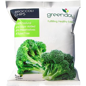 Greenday Chips crujiente de brócoli 100% natural envase 35 g envase 35 g
