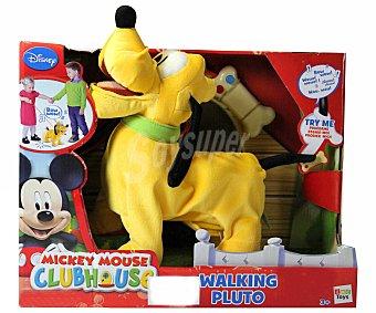 Disney Muñeco de Peluche Interactivo Pluto Paseos 1 Unidad