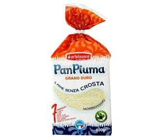 PAN PIUMA Pan de molde, Grano Duro 400 Gramos
