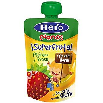 Hero Baby Hero Baby Bolsita Plátano con Fresa 100 g