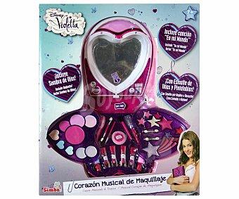 Disney Caja Corazón Musical de Maquillaje Violetta 1 Unidad