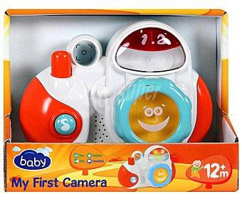 BABY Mi Primera Cámara interactiva con luces y Sonidos 1 Unidad