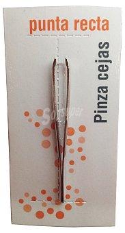 Luxor Pinza ceja punta precisión (recta) 1 unidad