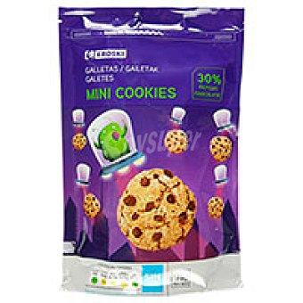 Eroski Mini cookies Paquete 175 g
