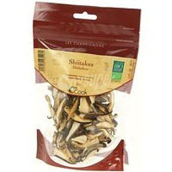 COOK Shiitakes deshidratados Bolsa 25g