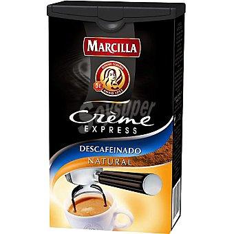 Marcilla Café Express Descafeinado Natural  Crème Express