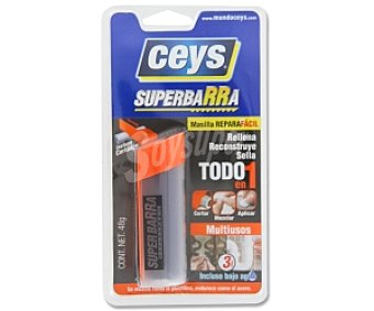 Ceys Masilla superbarra reparadora multiusos 48 Gramos