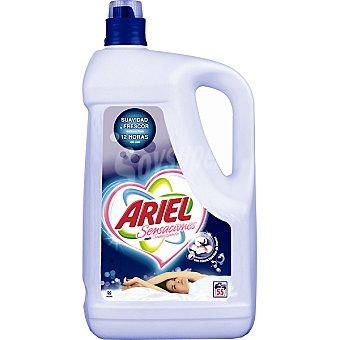 Ariel detergente máquina líquido con suavizante botella 55 dosis