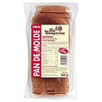 LA CAMPESINA pan de molde integral Paquete 260 g