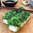 Uramakis de salmón, queso y alga wakame bandeja 160 g 8 unidades Sushispot