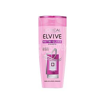 Elvive L'Oréal Paris Champú Nutri-Gloss cabellos largos apagados bote 300 ml Bote 300 ml