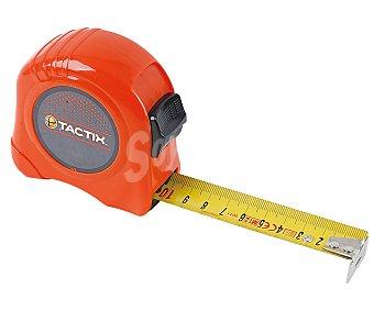 TACTIX Flexómetro con freno, 16 milímetros x 3 metros 1 unidad
