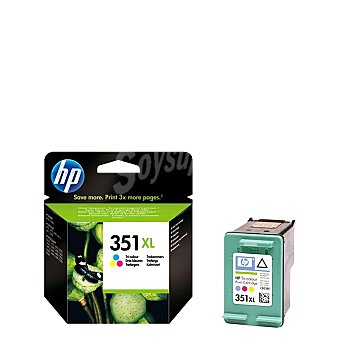 HP Cartucho de Tinta 351XL - Tricolor Cartucho de Tinta 351XL