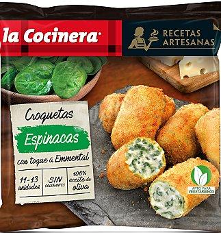 La Cocinera Croquetas artesanas espinacas 400 g