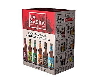 La Sagra Estuche cervezas degustación 6 uds. x 33 cl