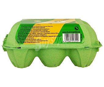 Pitas Huevos Camperos Forma de Cría 1 Estuche 6 ud