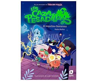 EDICIONES SM Los cazapesadillas, el inquilino fantasma, pedro mañas romero. Género infantil. Ediciones SM.