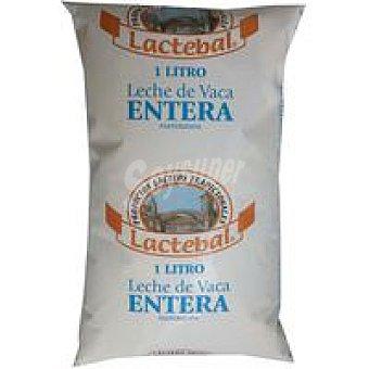 Lactebal Leche Fresca Entera Bolsa 1 litro