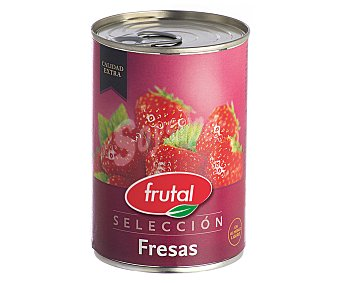 Juver Fresas en almíbar 425 g