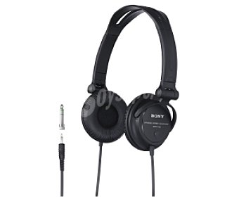 SONY MDRV150 Auricular Cerrado tipo reversibles, negro