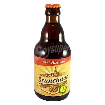 Brunehaut Cerveza Artesana Brunehaut Bio Amber Sin Gluten 6,5% 33 cl