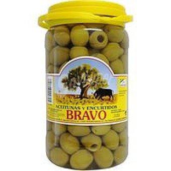 Bravo Aceitunas sabor manzanilla deshuesada Frasco 800 g