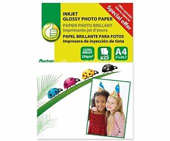 Productos Económicos Alcampo Papel foto High Glossy A4 230 Gramos 230 Gramos
