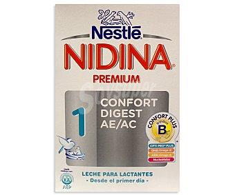 NESTLÉ Nidina Confort 1 Leche de iniciación Caja 750 g