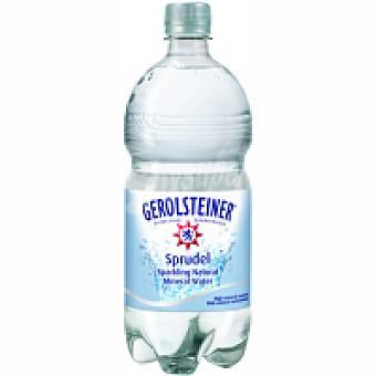 Gerolsteiner Agua alemana Botella 1 litro