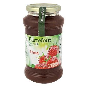 Carrefour Mermelada extra de fresa 650 g