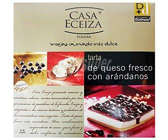 Casa Eceiza Tarta de queso fresco con arándanos Estuche 500 g