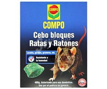 Cebo ratas/ratones, Estuche 450 grs