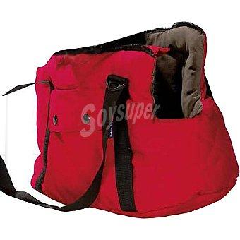 Bobby Modelo Promenade bolso mochila para mascotas medida 50 cm color rojo 1 unidad