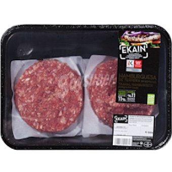 EUSKO LABEL EKAIN Burguer Meat de ternera Bandeja 480 g